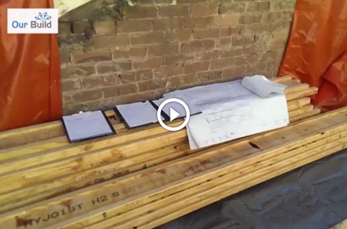 Episode 3 - Floor joist installation - Carpentry stage