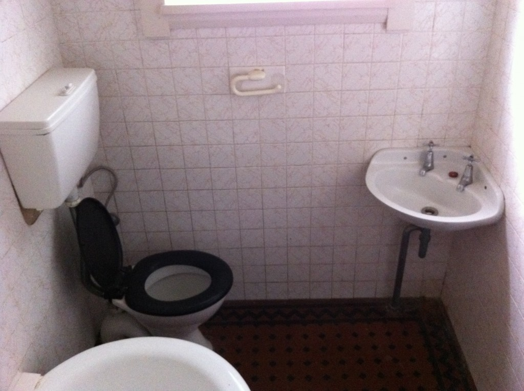 Bathroom renovation -before