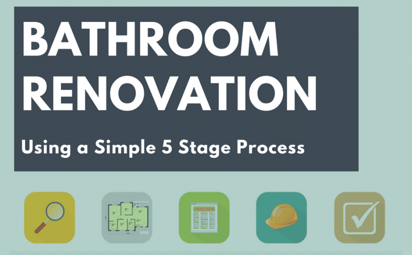 How to Renovate a Bathroom: 5 Stage Process