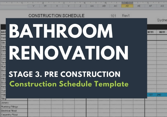 renovation construction budget spreadsheet implementing renovations property renovation budget Construction Schedule Template