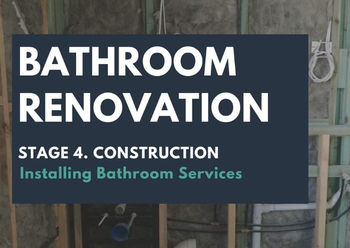 Tips For Installing Bathroom Services