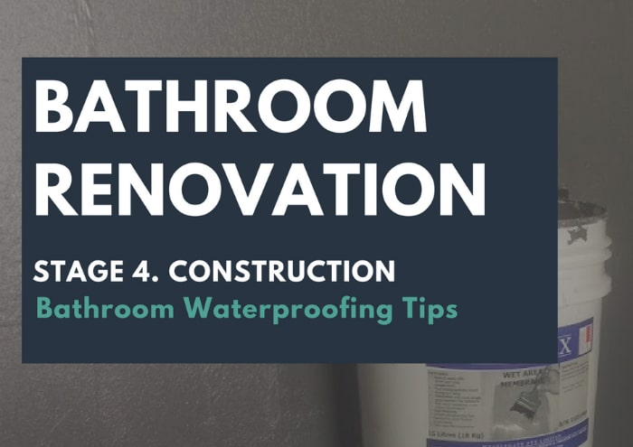 Bathroom Waterproofing Tips