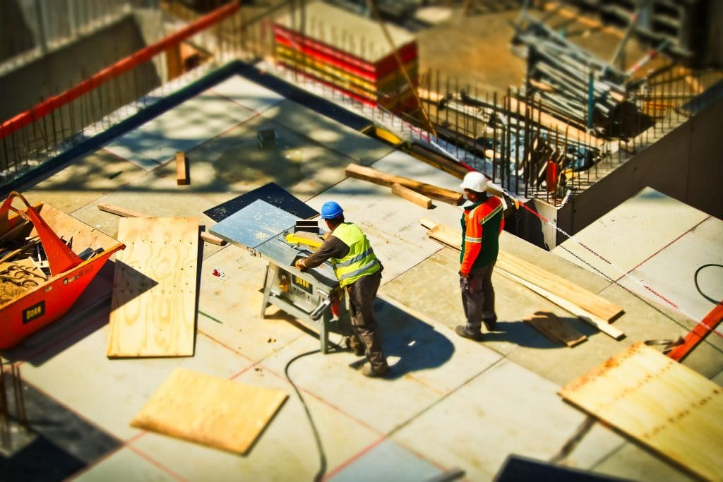 Owner builder construction site