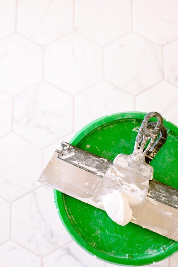 Repairing the tiles