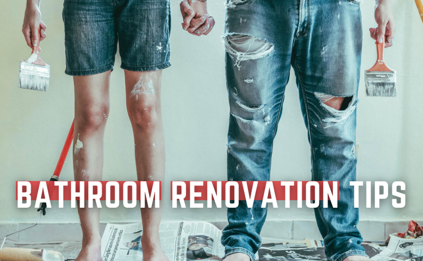 Bathroom renovation tips: Wall lining, painting, Joinery and shower screens