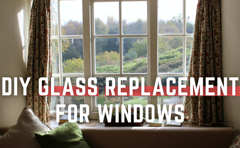 How to repair a broken glass window? DIY glass replacement for windows